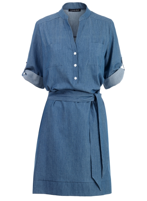The Chambray Dress by Isabella Oliver