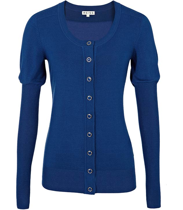 Elle Basic Cardigan by Reiss