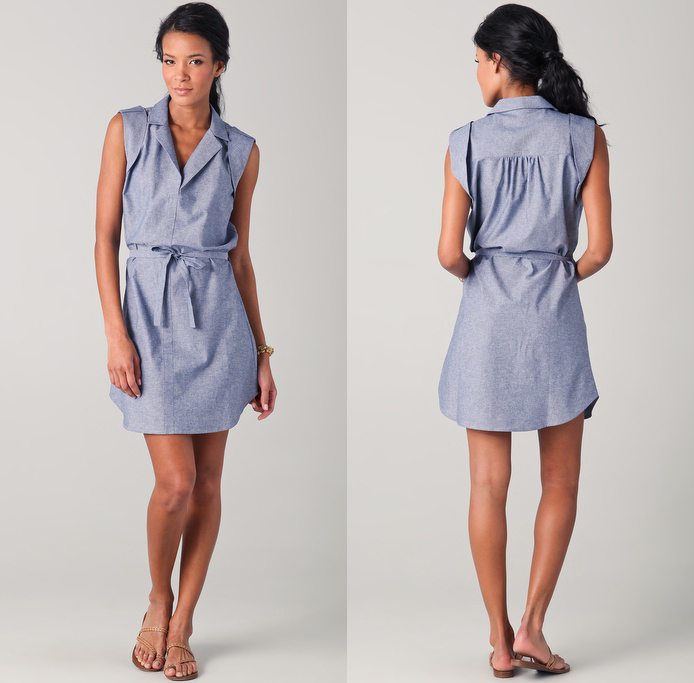 Mod Shirtdress with Belt by Thayer