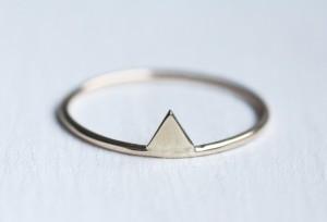 Custom 10K yellow gold ring