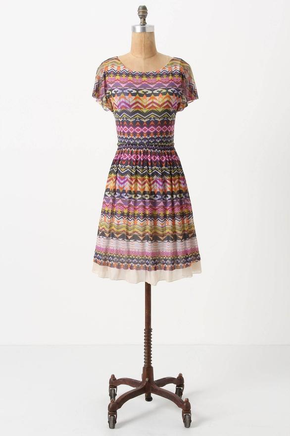 Flared Caraz Dress by Weston Wear