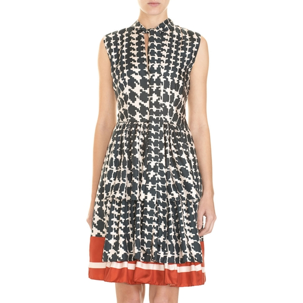 Houndstooth dress by Marni