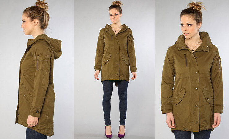 The Randalls Fishtail Coat by Spiewak