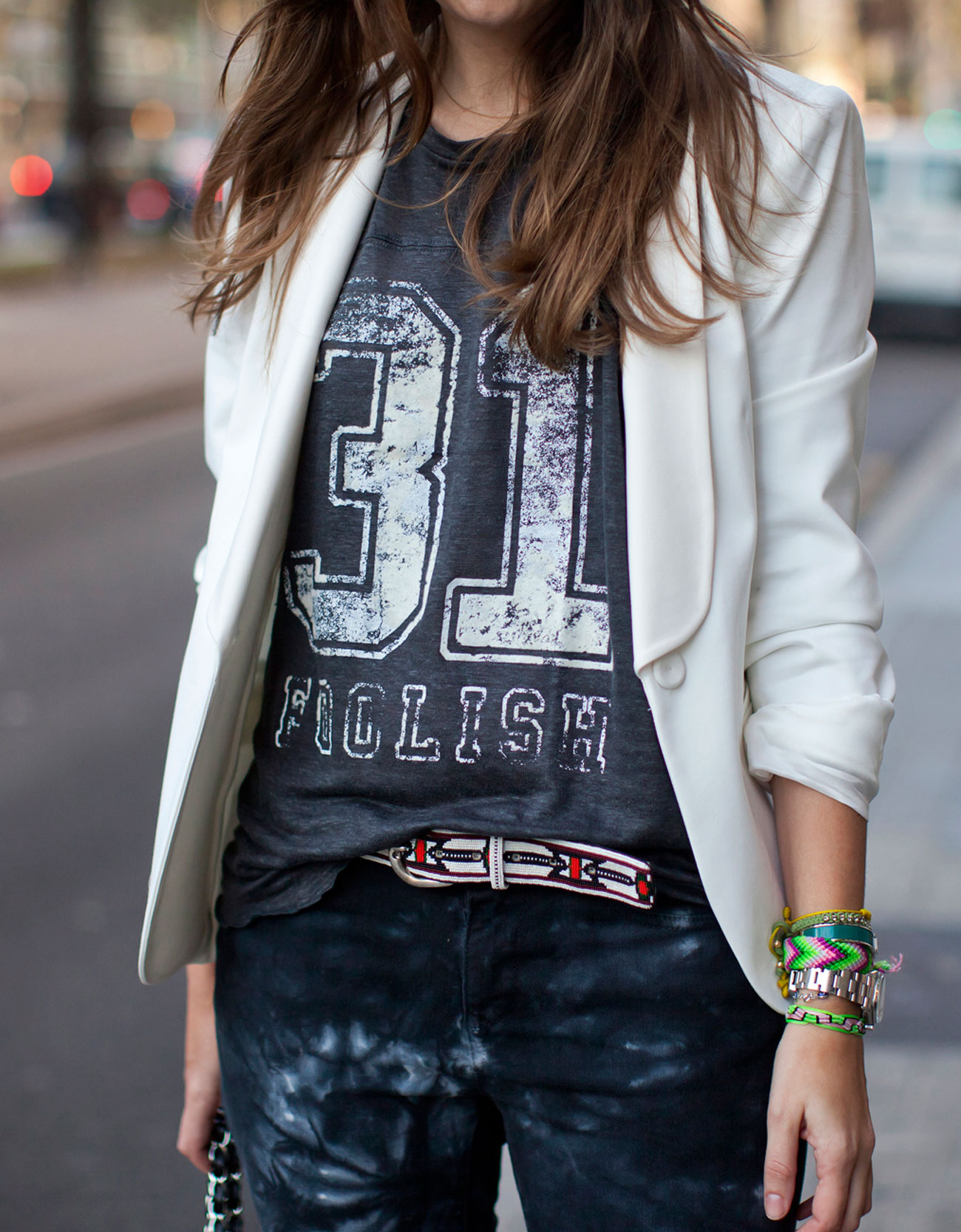 Tuxedo-Style Blazer by Zara