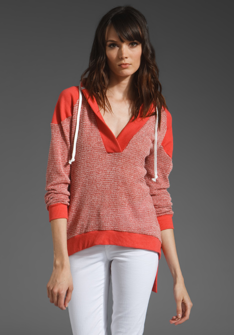 Boutique Shawl Collar Hoodie by LOVE ZOOEY
