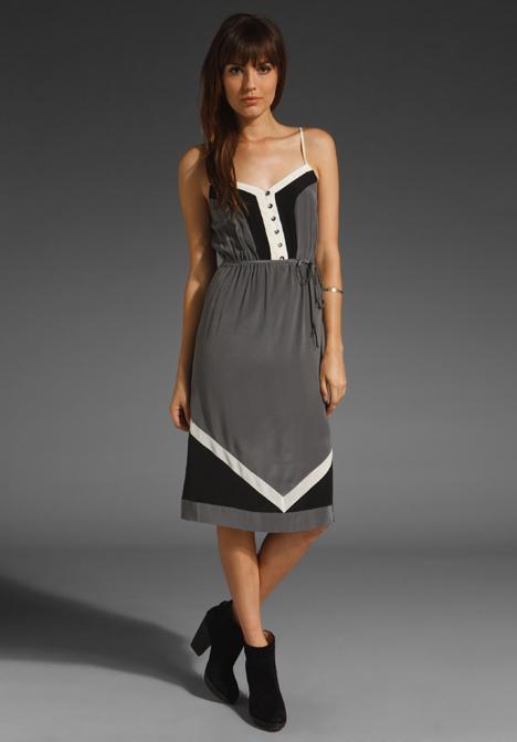 Color Block Dress by Beyond Vintage