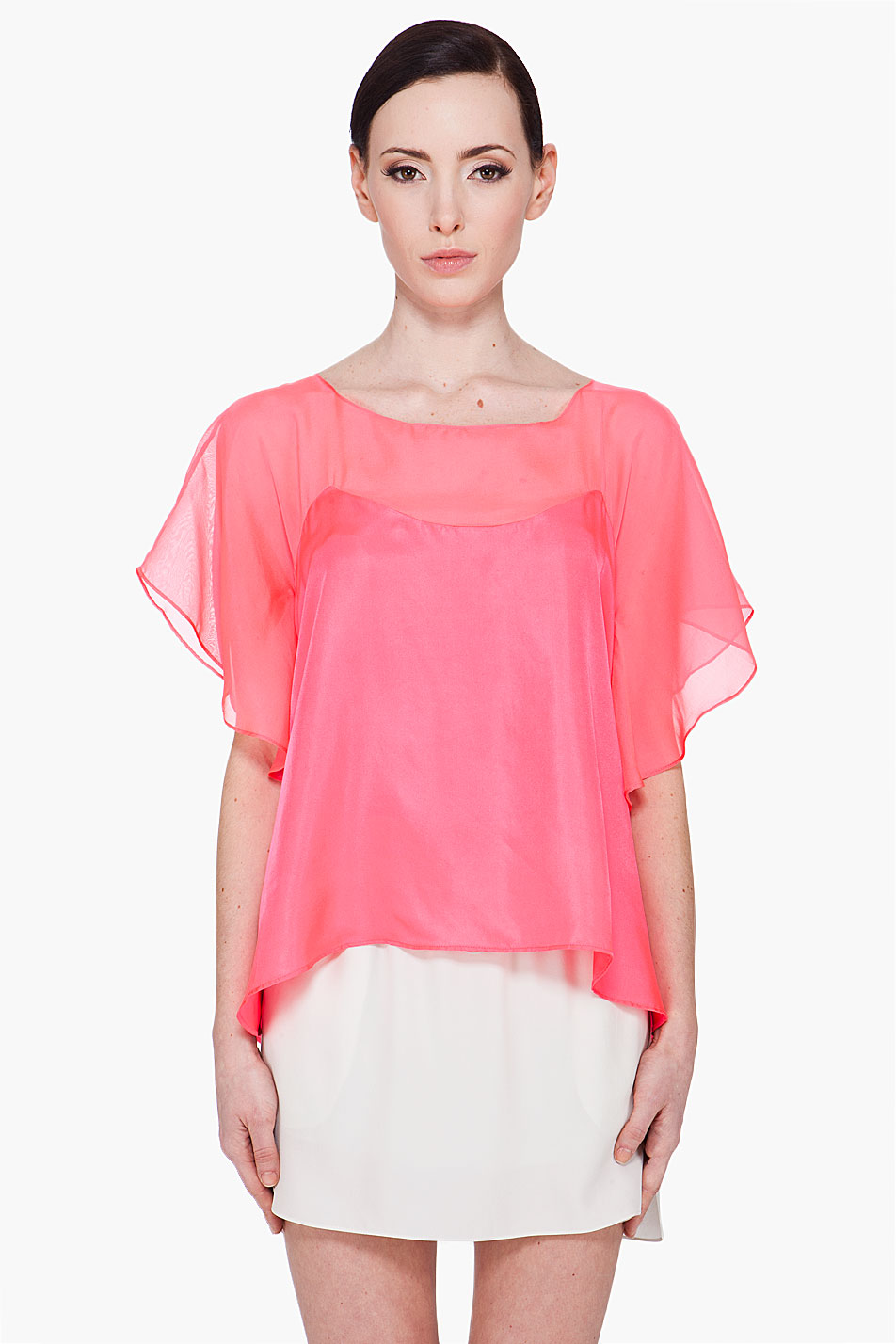 Alessia Silk Blouse by Elizabeth and James