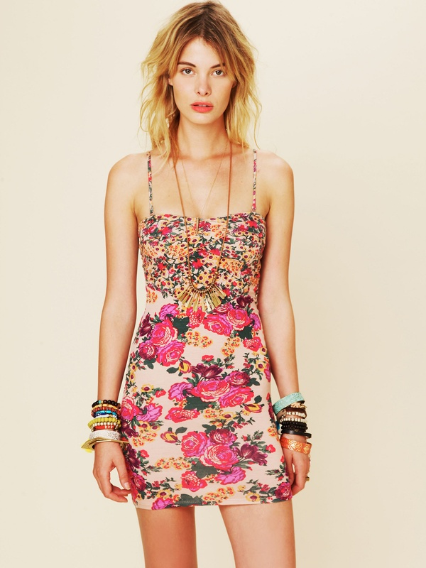 Mix Print Bodycon from Free People