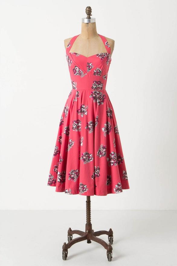 Akebono Halter Dress by Girls from Savoy