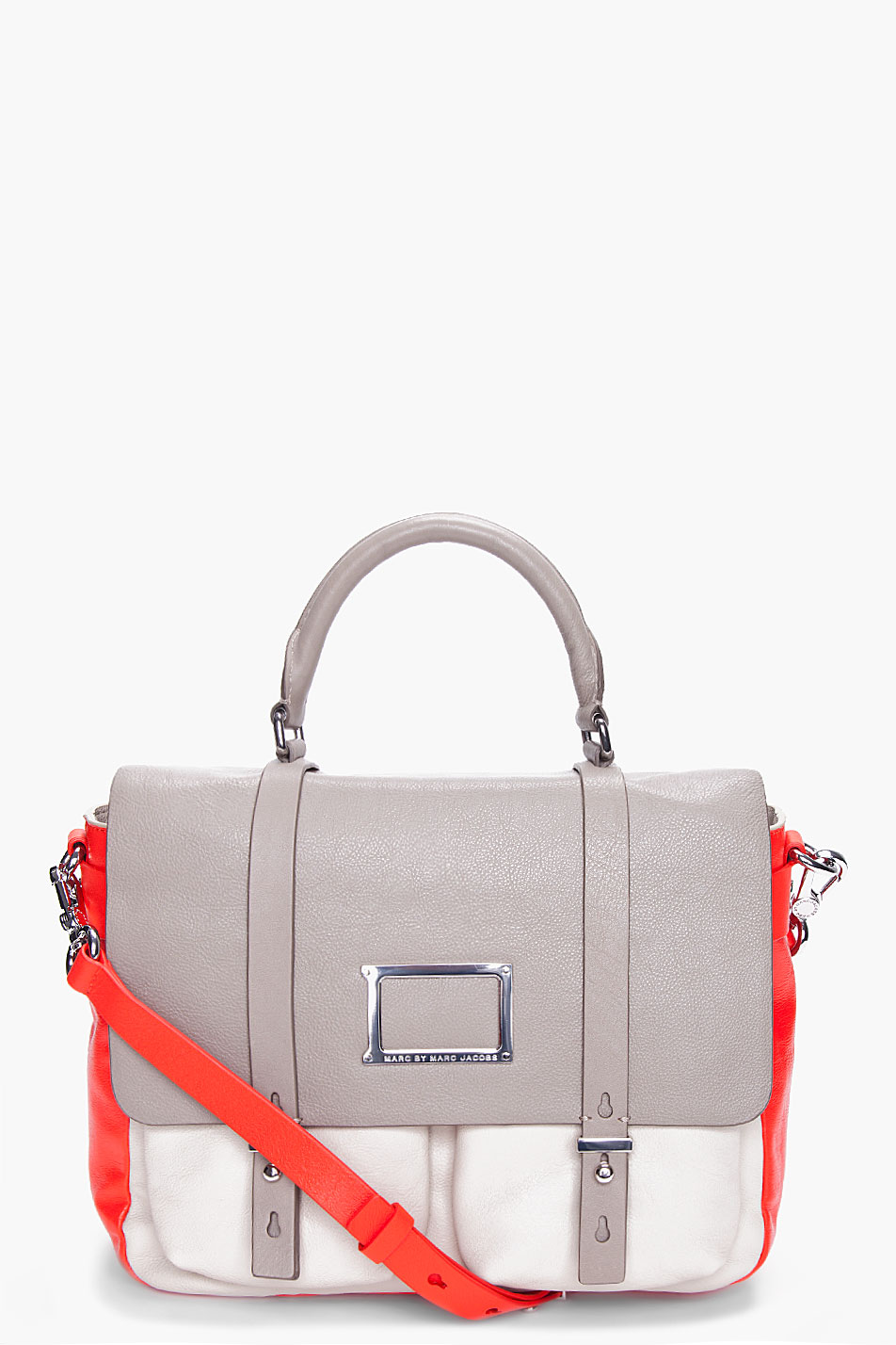 Shock Red Werdie Messenger Bag from Marc by Marc Jacobs