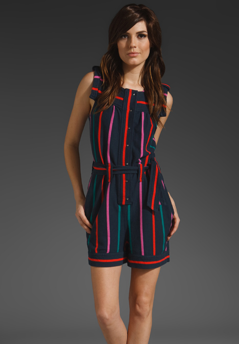 Mallory Stripe Romper from Marc by Marc Jacobs
