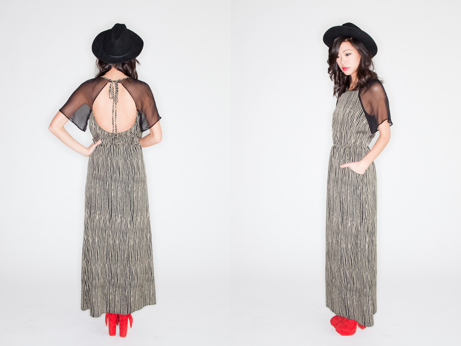 Sheer Sleve Maxi by Thompson Fifteen