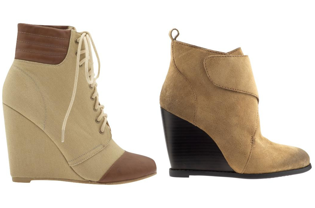 Gretchen Boots by Coconuts + Kaelin Boots by BCBGeneration