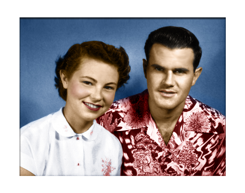 My grandparents, Pat and Ray