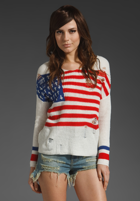Flag Religion Sweater by UNIF