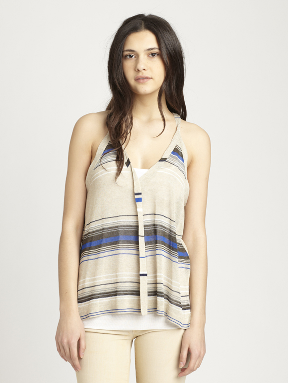 Misplaced Stripes Cami