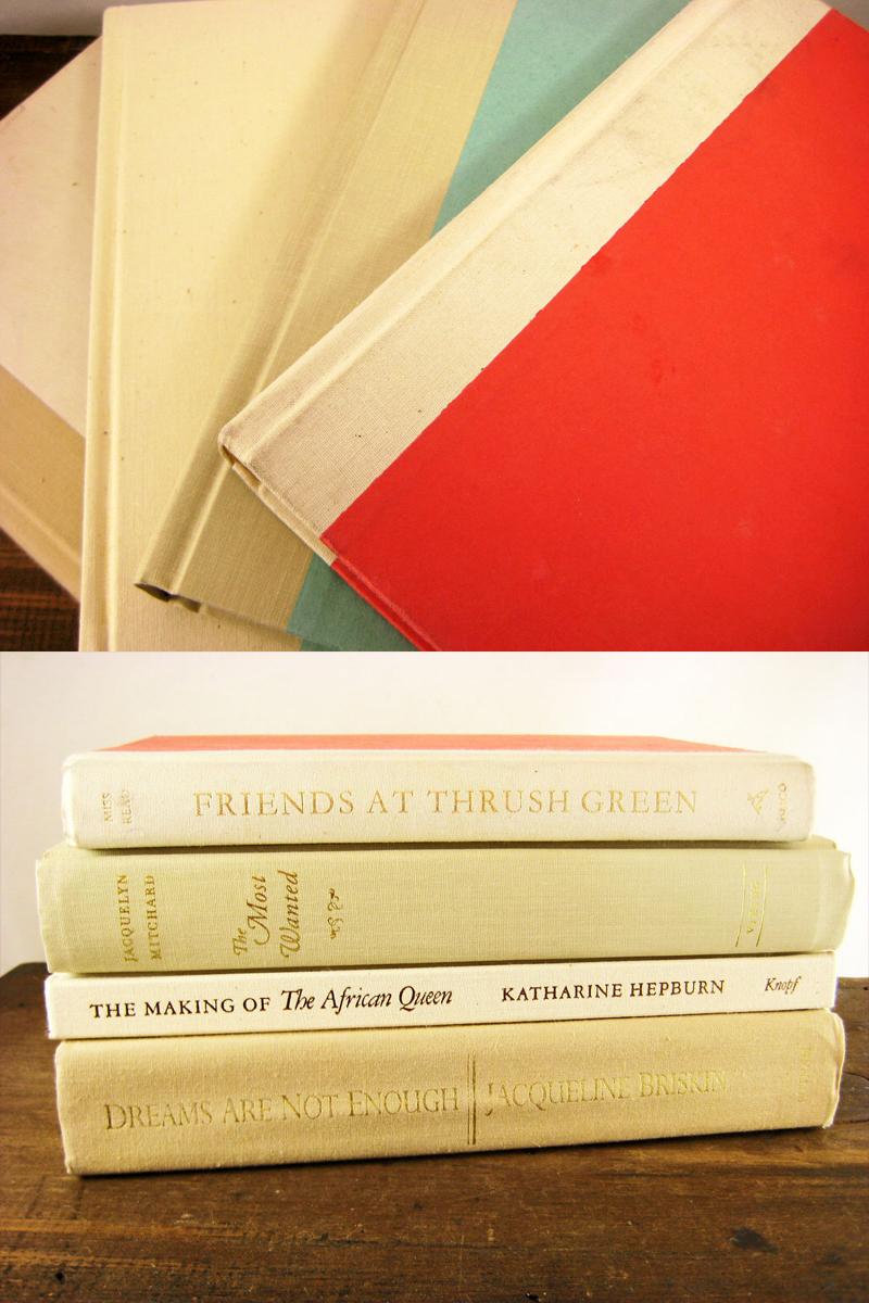 My Vintage Shabby Chic Book Collection from APrettyBook