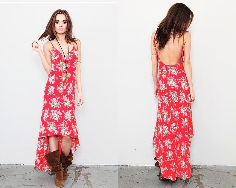 High Low Dress by Blu Moon