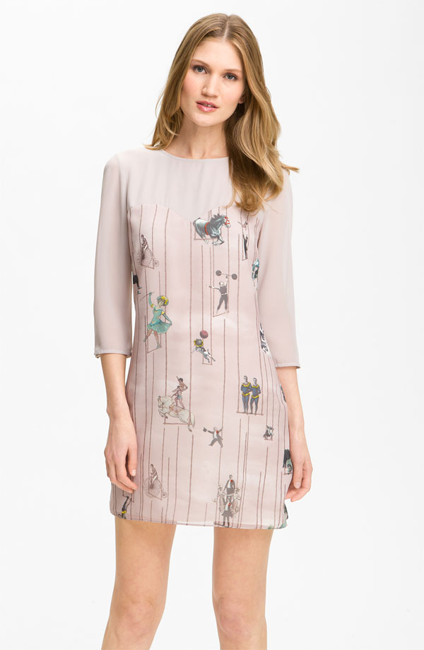 London Print Dress by Ted Baker