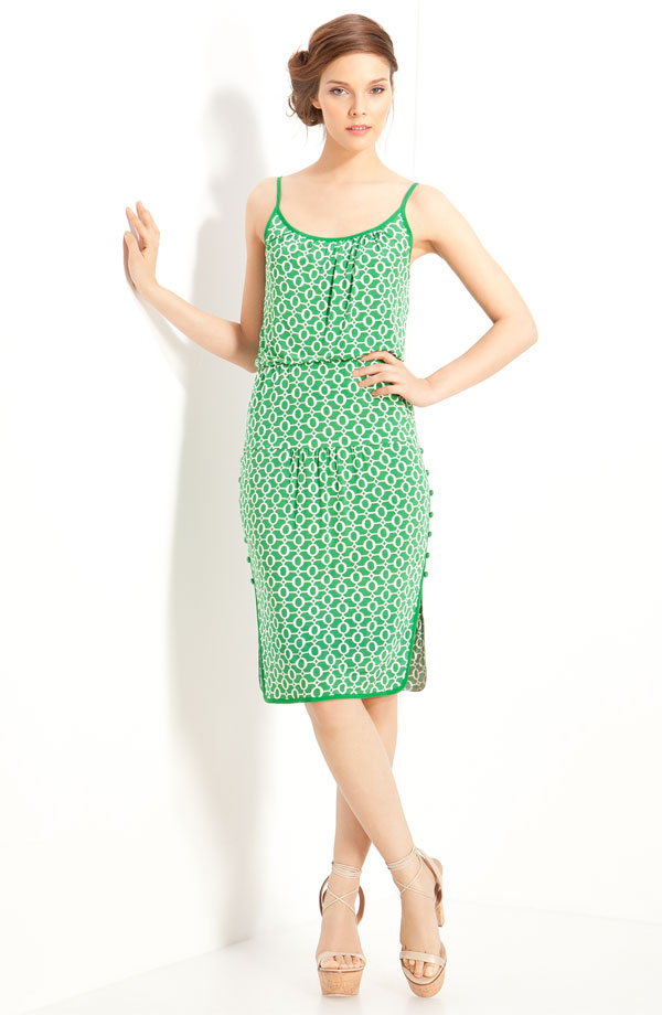 Print Jersey Dress by Tracy Reese