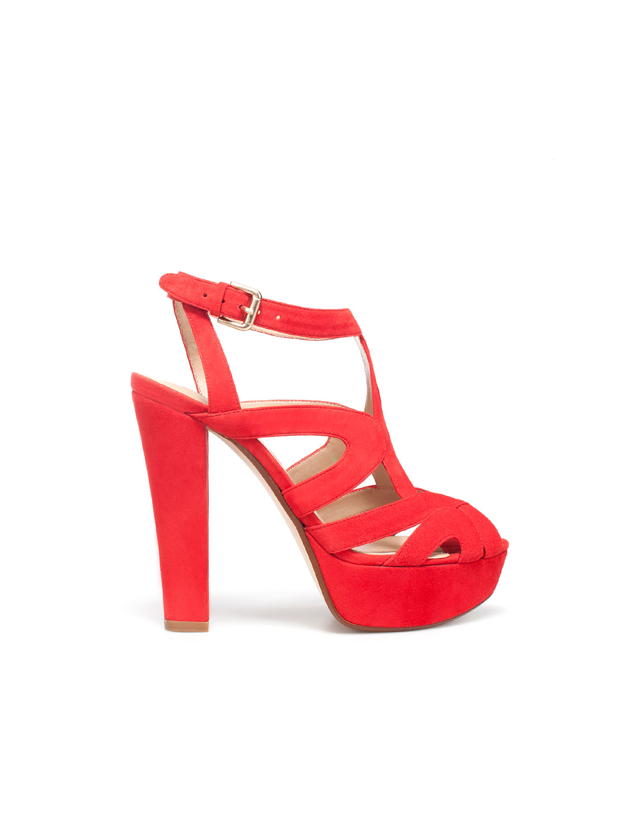High Heel Platform Sandal by Zara