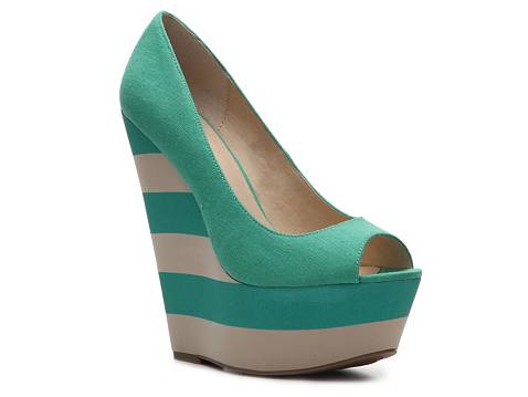 Pizzazz Wedge Pump by Zigi Soho