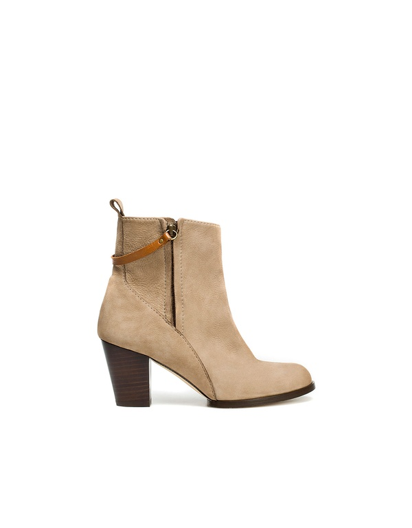 Heeled Country Ankle Boot by Zara