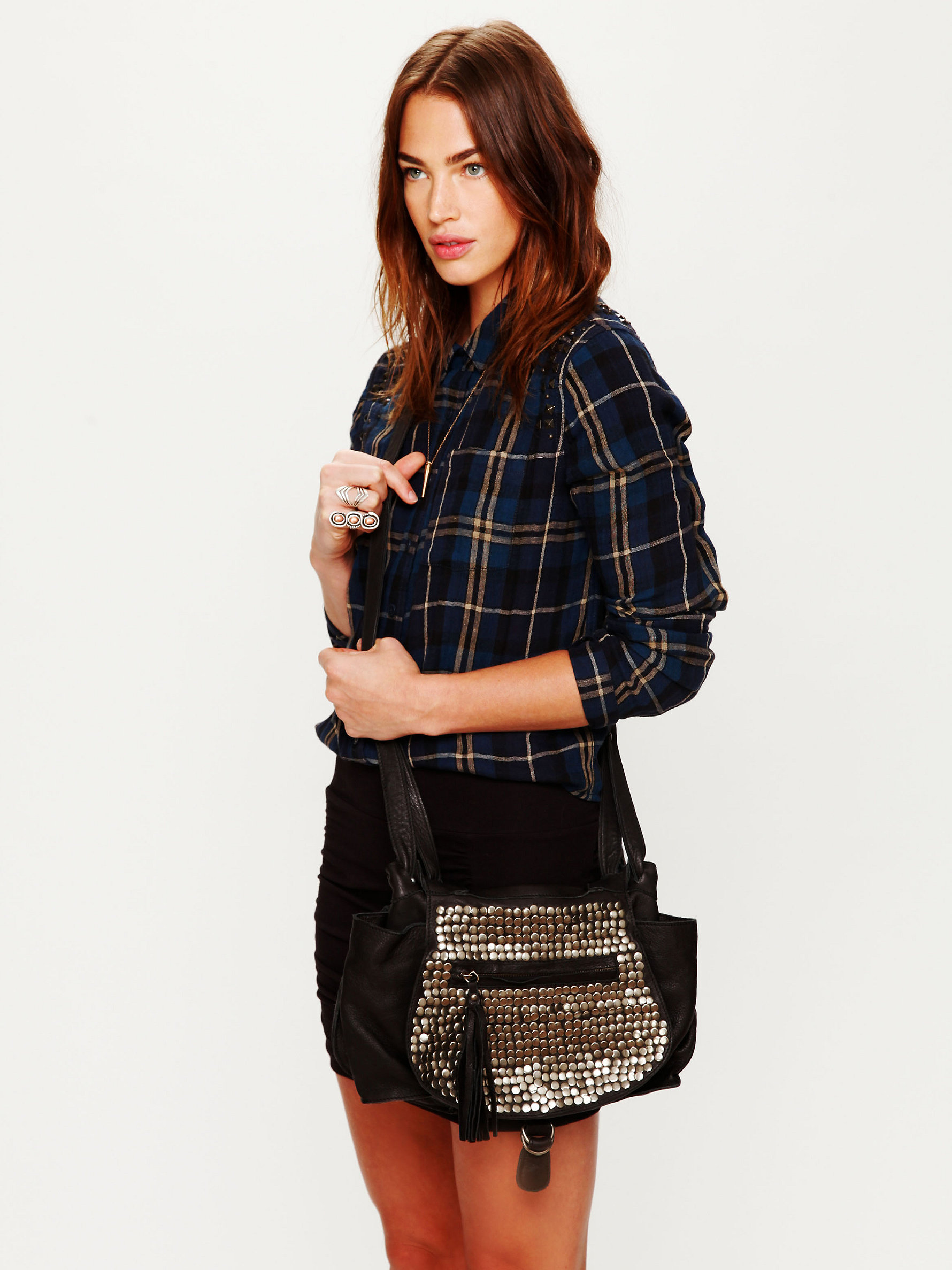 Studded Jessie Satchel by Cut N' Paste