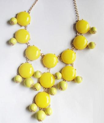 Bubble Necklace by J. Crew