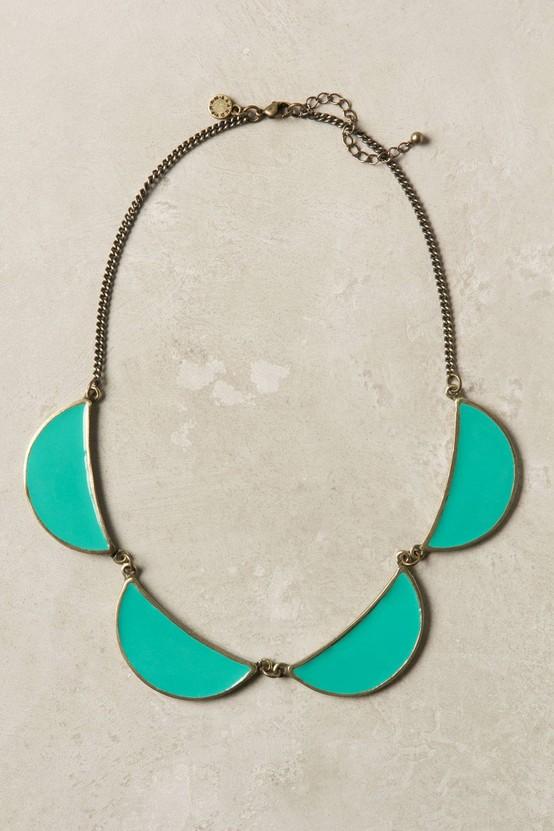 Sky Petals Necklace by Brandy Pham