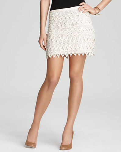 Tiered Lace Skirt by Aqua