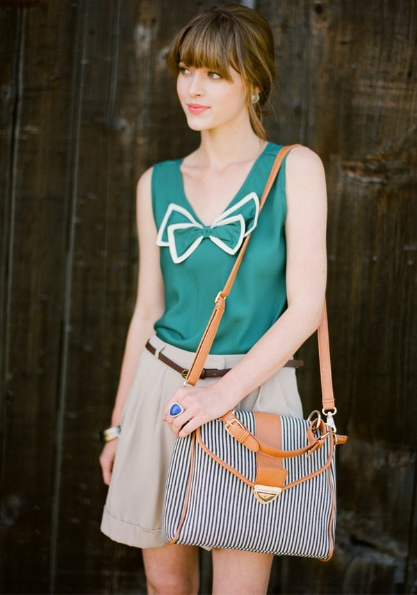 Delightful Bow Tank by Ruche