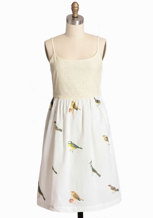 Singing with the Birds Dress by Knitted Dove