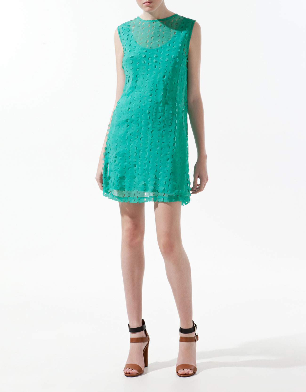 Dress With Cut Out Design by Zara