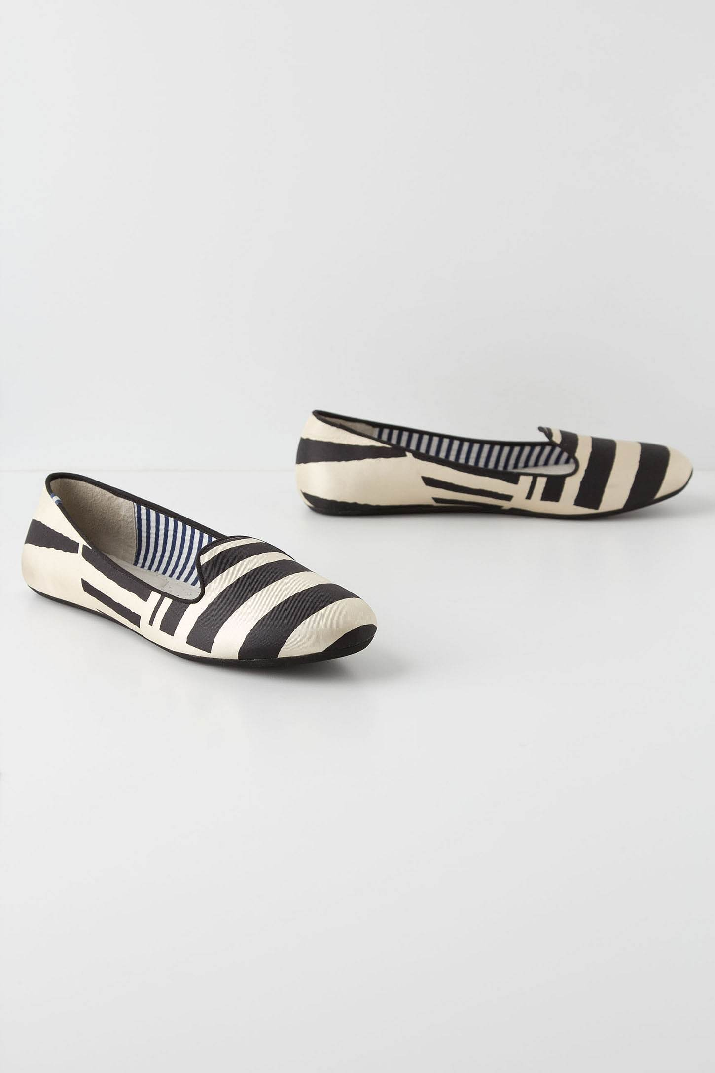 Broken Stripes Loafers by Charles Phillip