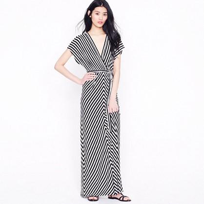 Kimono-Sleeve Maxi by J. Crew
