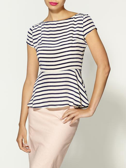Scarlett Club 55 Stripe Top by TT Collection