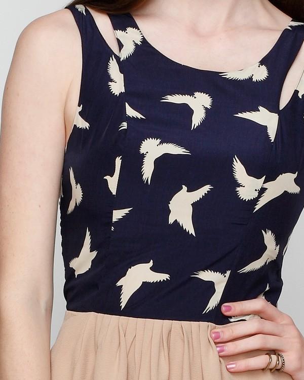 Bird Dress from Need Supply Co.