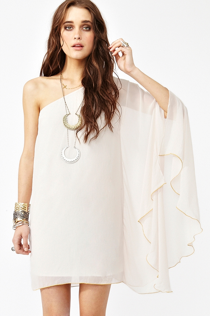 Sweet Side Dress from Nasty Gal