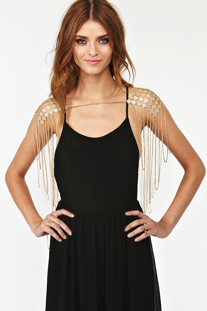 Diamond Body Chain from Nasty Gal