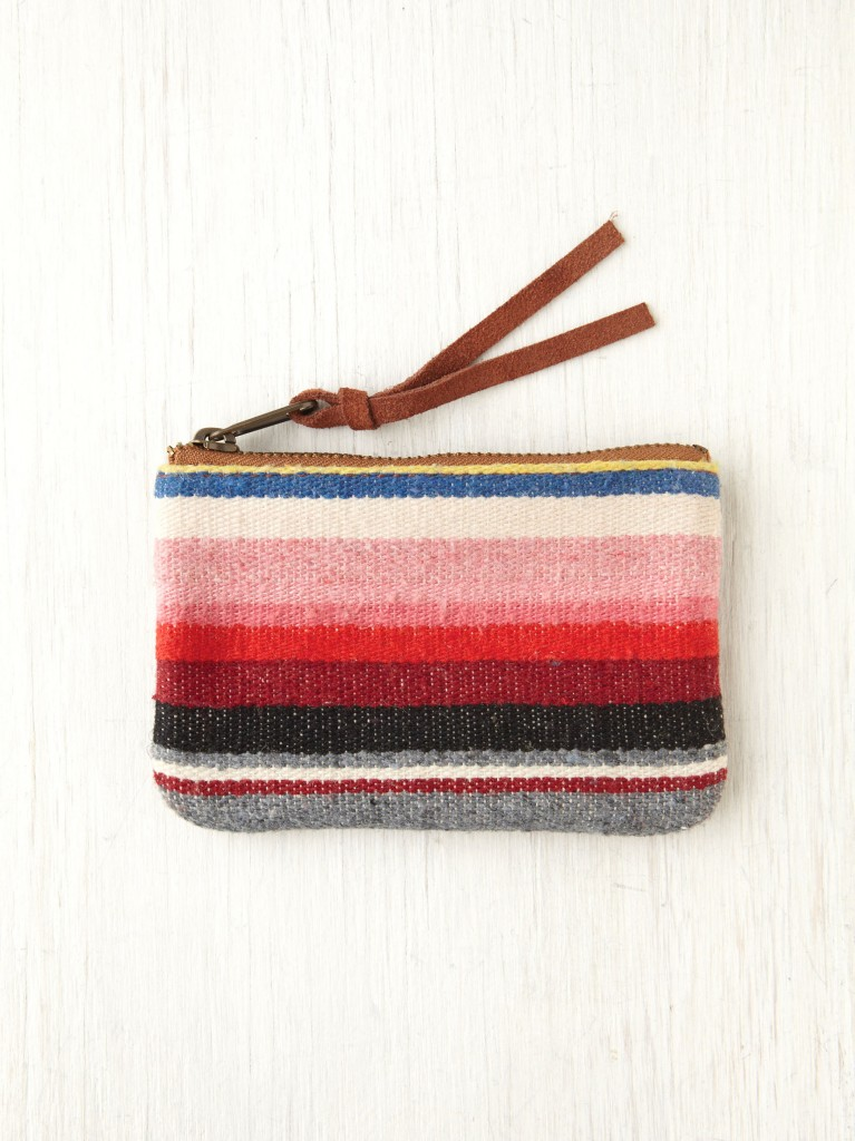 Serape Change Purse by Free People