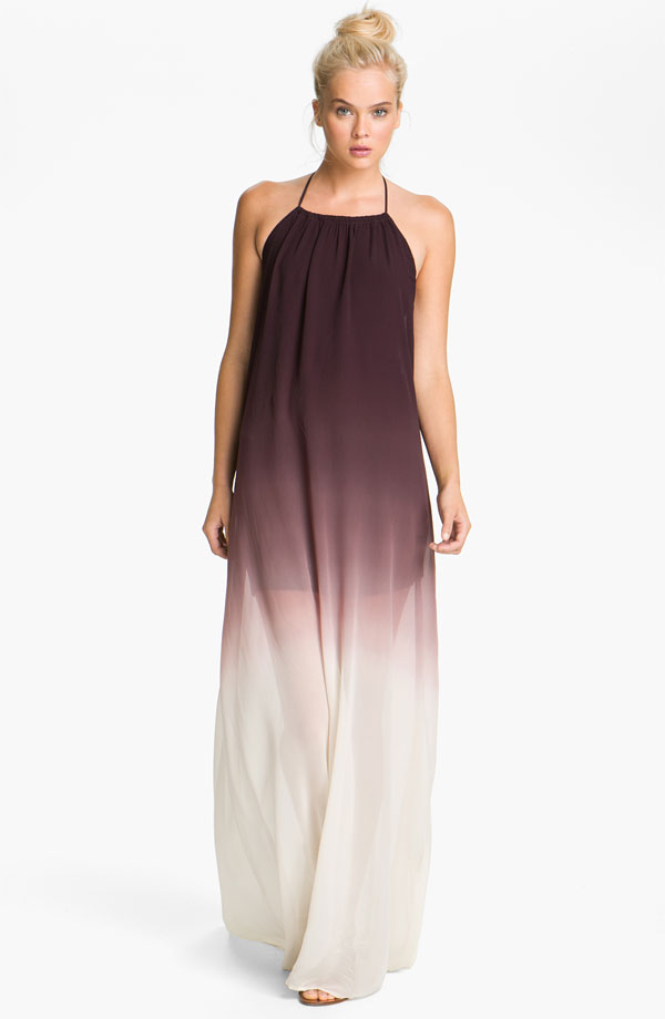 Ombre Trapeze Maxi Dress by Young, Fabulous & Broke