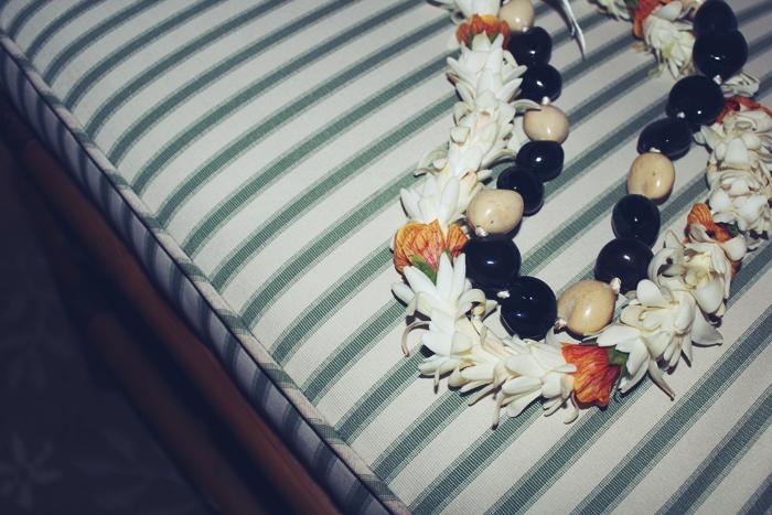 our Hawaiian leis