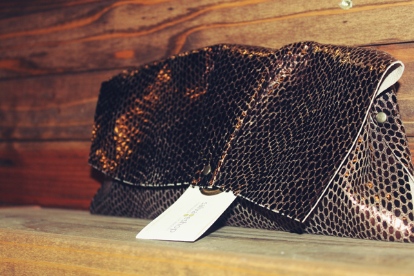 Leather Clutch by salvageshop
