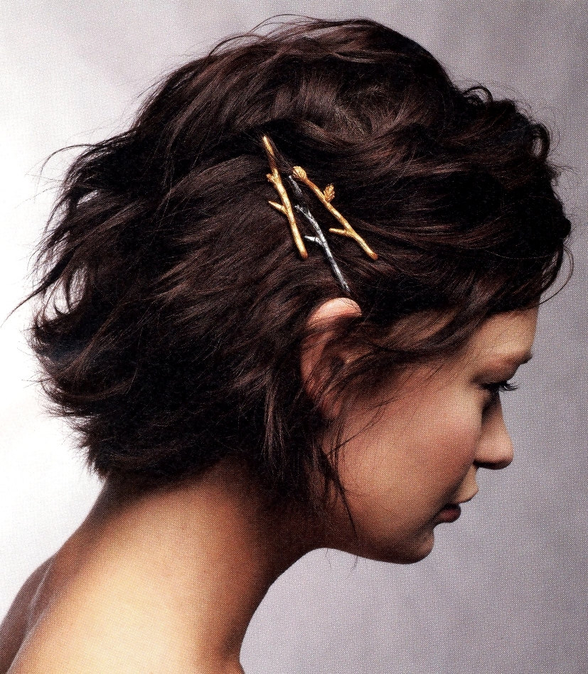 Twig Branch Bobby Hair Pins by Woodland Belle
