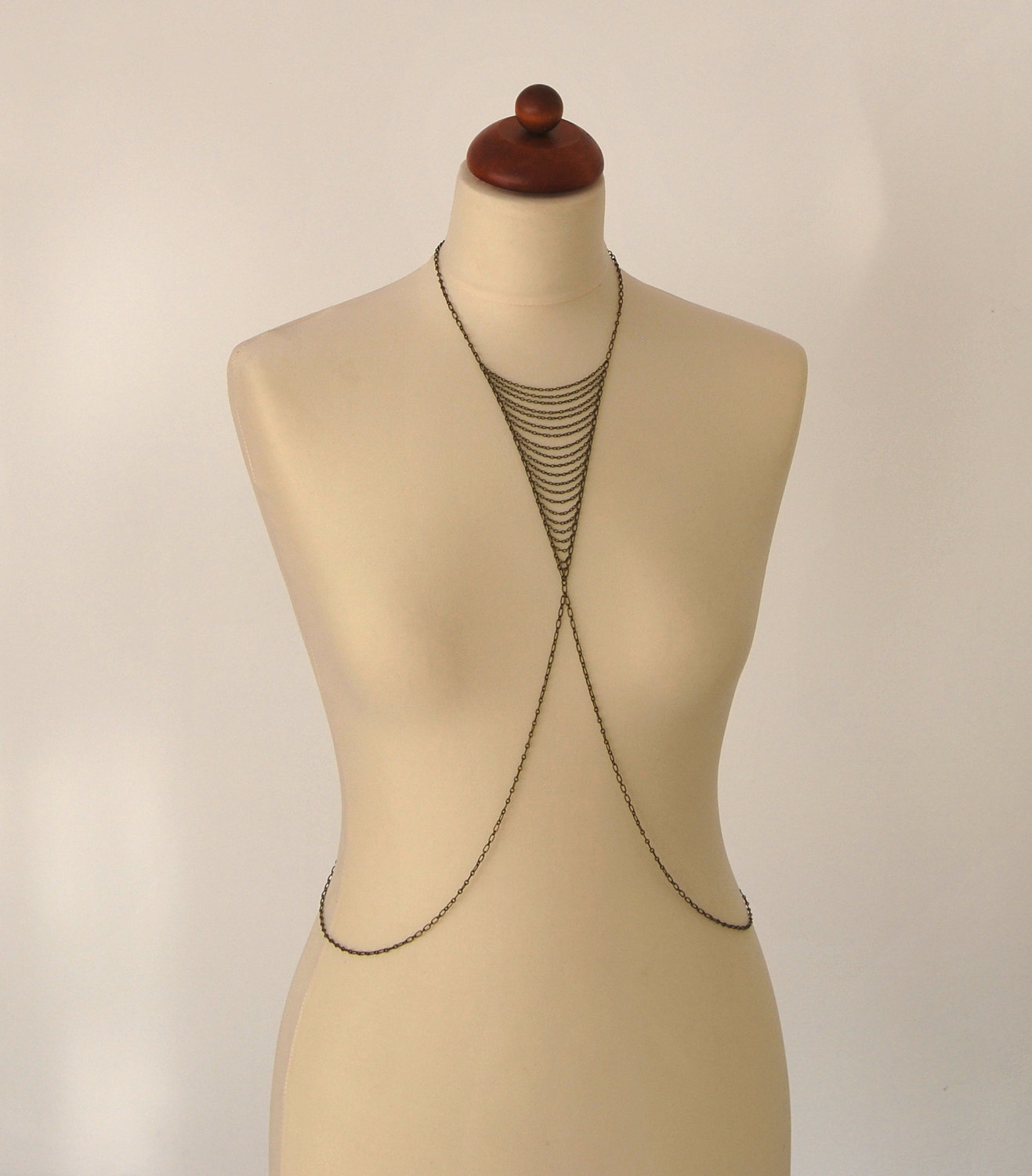 Ariadne no. 3 Body Chain Necklace by hungry Swan