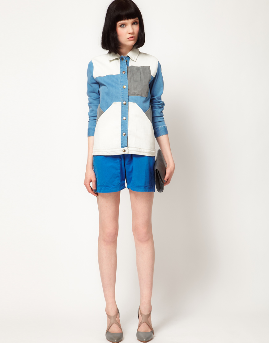 Denim Patch Jacket by Surface To Air