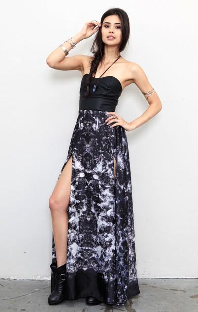 Lithium Maxi Dress by stylestalker