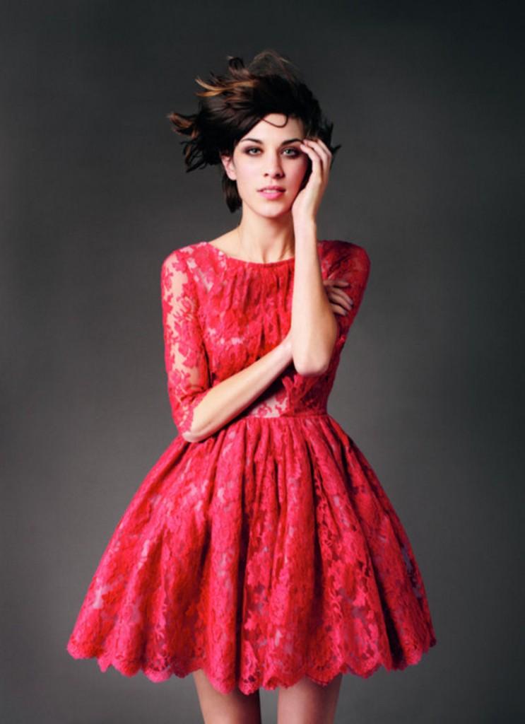 Margot Lace Dress by Erdem