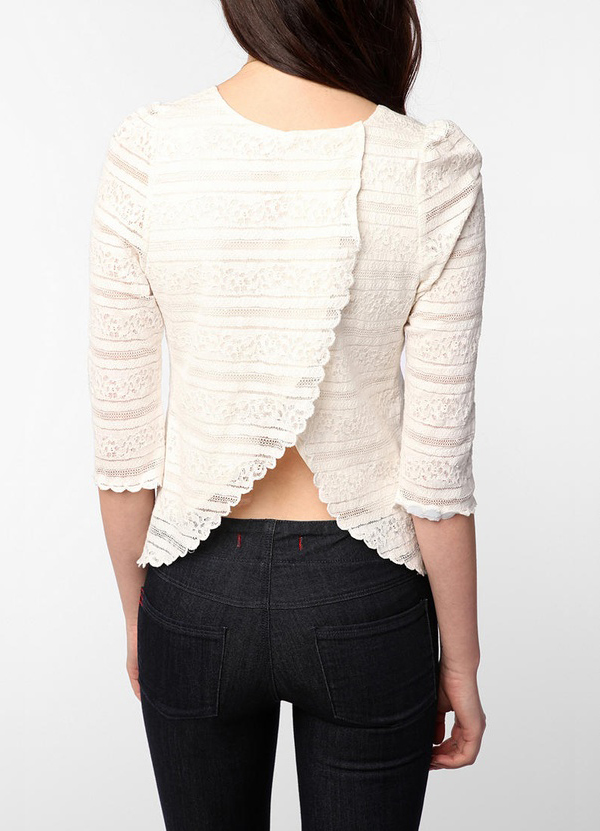Stephanie Lace Blouse by Dolce Vita